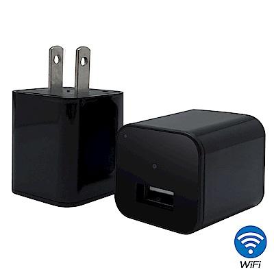 【CHICHIAU】WIFI無線網路高清1080P充電器造型-針孔微型攝影機+影音記錄