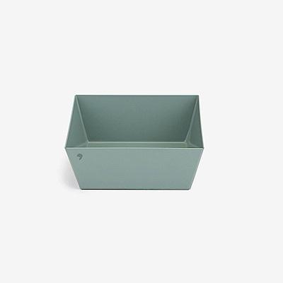 Dailylike 幾何創意桌面收納托盤-方形S-薄荷綠