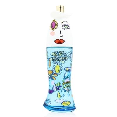 [即期優惠] Moschino So Real 奧莉薇女性淡香水100ml Tester 商品效期:2022.01