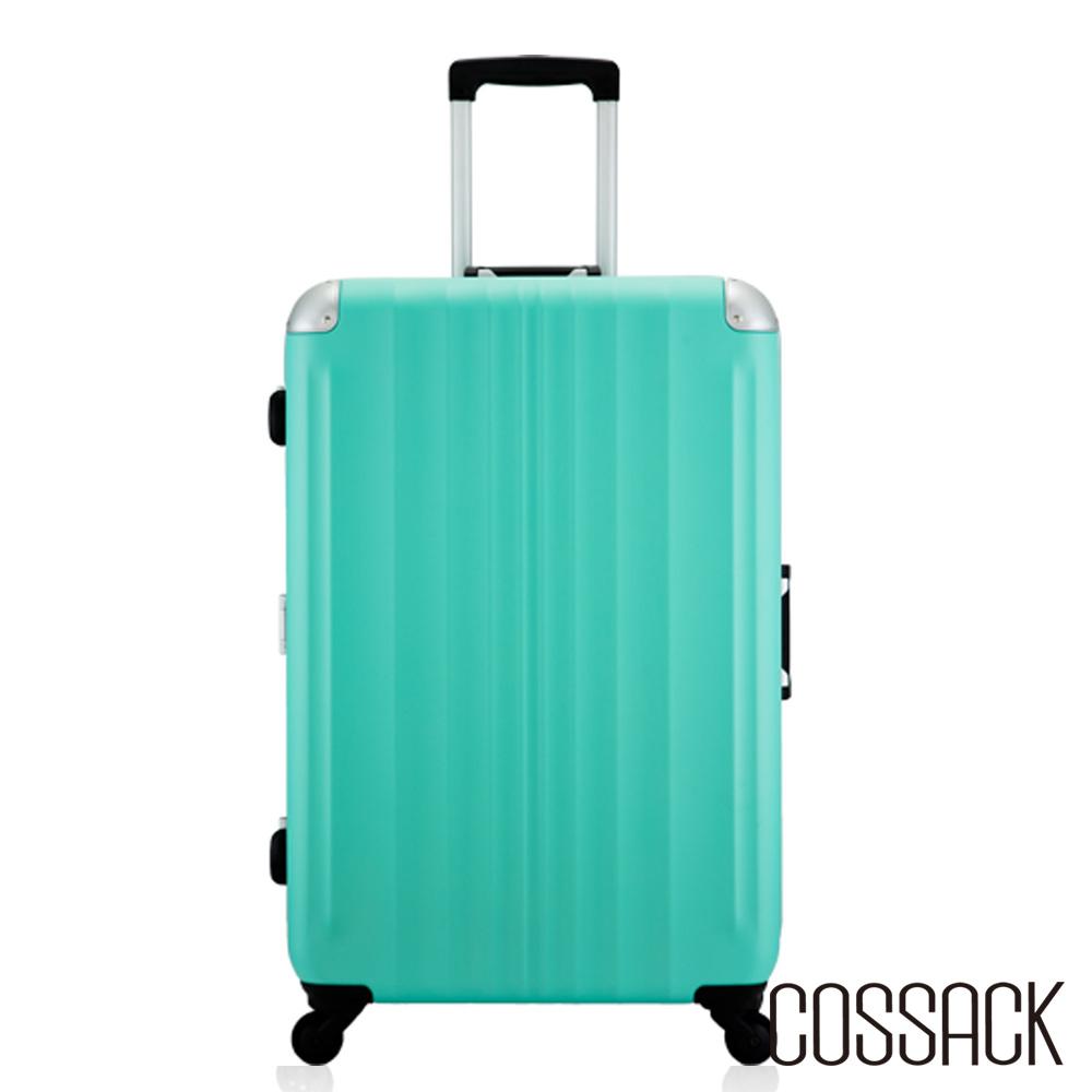 Cossack- SPIRIT 2風度- 27吋PC鋁框行李箱-霧綠