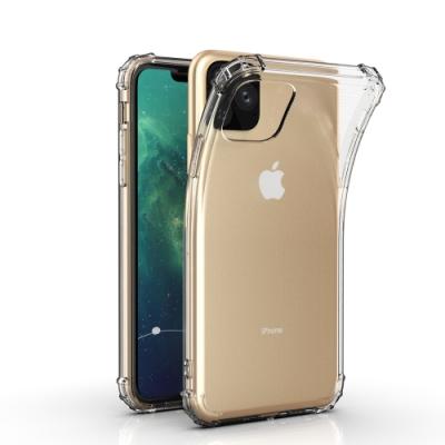 Apple 蘋果iPhone11 ProMax 6.5吋 軍用軍事防摔透明手機殼 手機背蓋