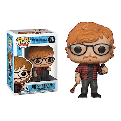 Funko POP!系列 Q版 Ed Sheeran 紅髮艾德 76