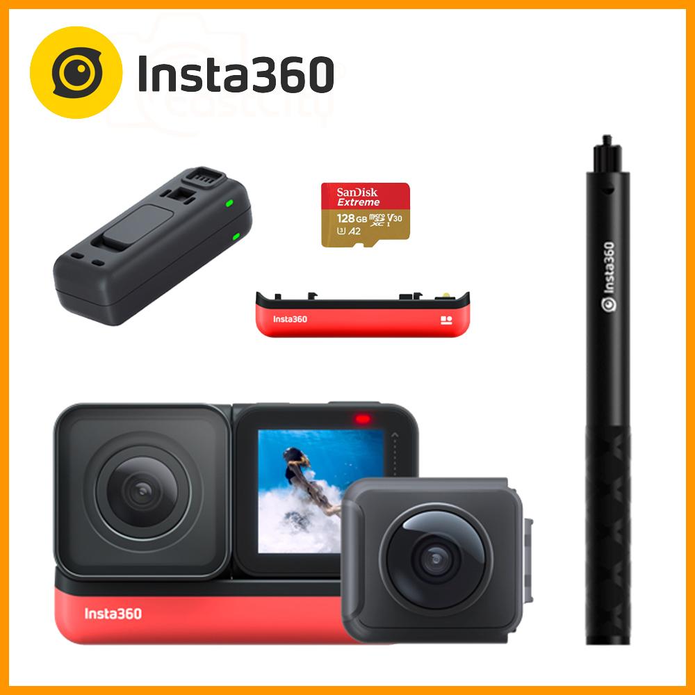 Insta360 ONE R 雙鏡頭套組 (公司貨) 贈128G卡+隱形自拍棒+原廠電池+原廠充電器