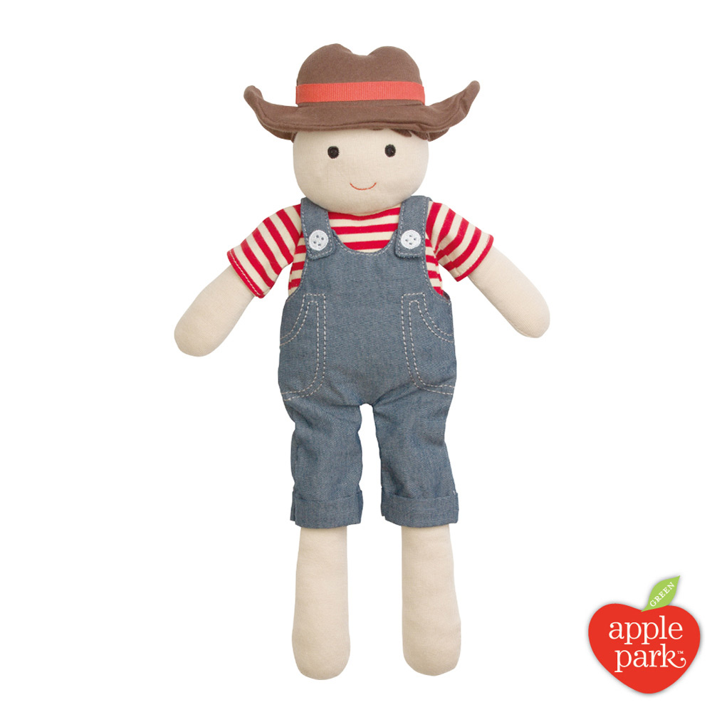 【美國 Apple Park】農場好朋友 安撫玩偶 - 農場男孩