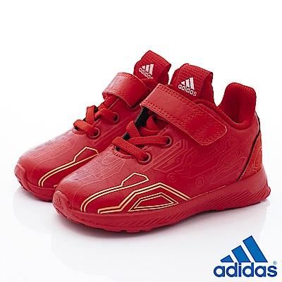 adidas童鞋星際大戰聯名慢跑款TW686紅寶寶段