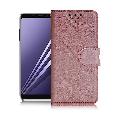 NISDA for 三星 Galaxy A8+ (2018) 星光閃亮支架皮套