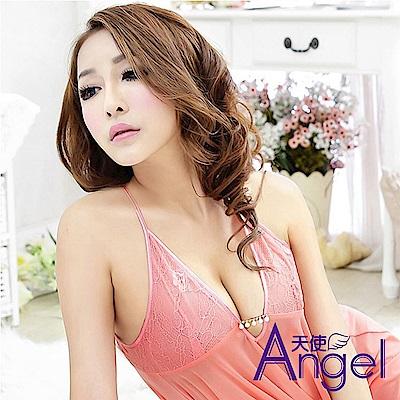 Angel天使 露乳性感睡衣三點式情趣內衣誘惑套裝 BP088