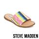 STEVE MADDEN-OCEANA 夏日一字寬版編織平底拖鞋-彩色 product thumbnail 1