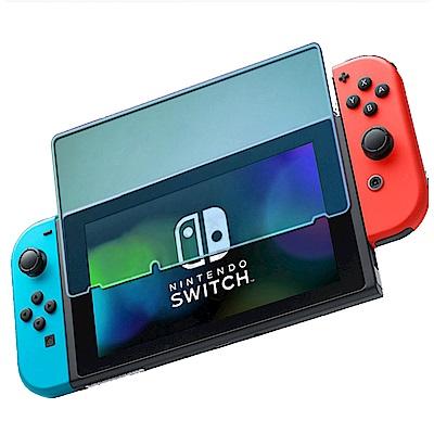 (2入組) Nintendo任天堂Switch專用 9H高透光鋼化玻璃螢幕保護貼