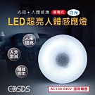 愛迪生 插頭式國際電壓LED感應燈
