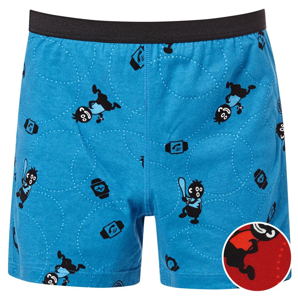 DADADO-小黑人 110-130 男童內褲(紅)品牌推薦