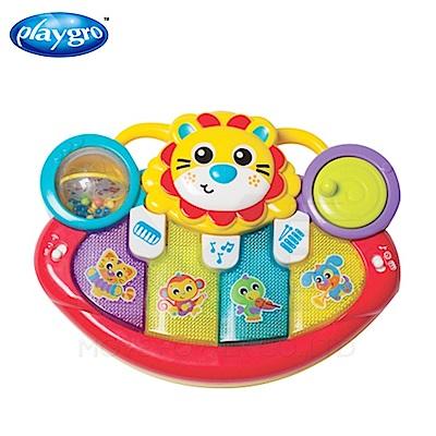 【任選】澳洲Playgro-手推車活力獅小鋼琴