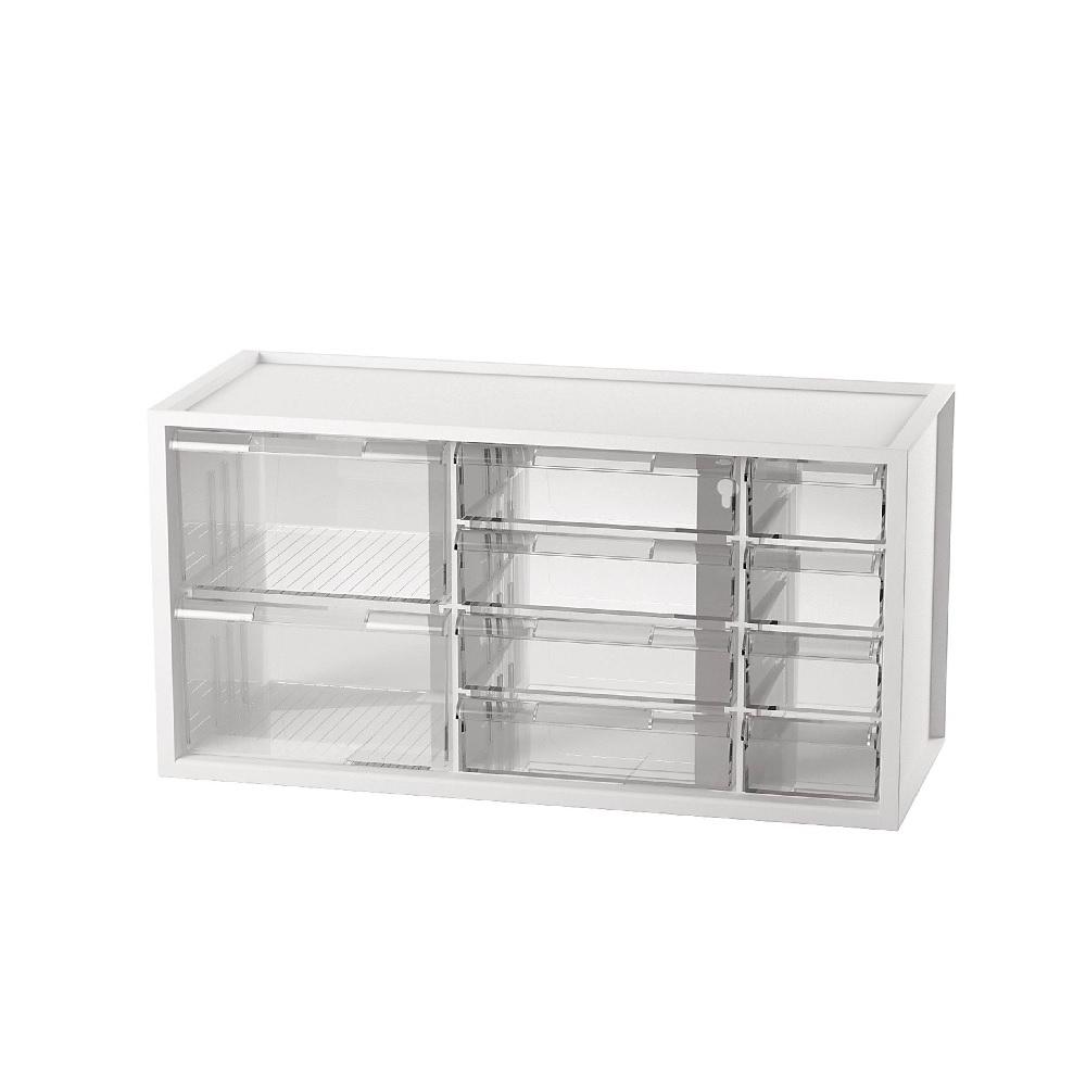 【樹德 livinbox】小幫手零件分類箱 A9-5244(10抽)