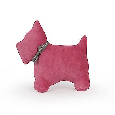 Yvonne Collection 梗犬造型玩偶-醋栗粉