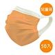 神煥 醫療口罩(未滅菌)兒童用-橘色(50入/盒) 專利可調式無痛耳帶 product thumbnail 1