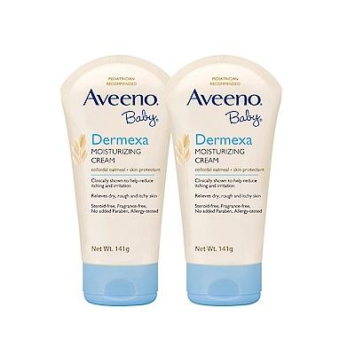 艾惟諾Aveeno 嬰兒燕麥益敏修護霜 141g(2入組)