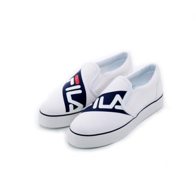 FILA 女休閒鞋-白 5-C602T-110
