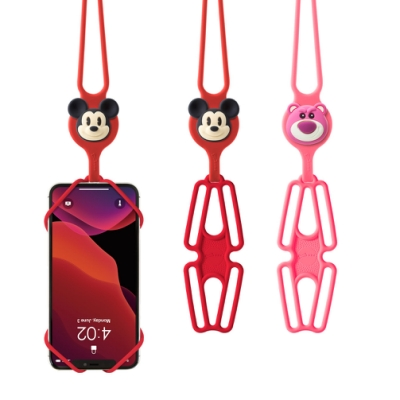 【BONE】頸掛手機綁2代-迪士尼角色款