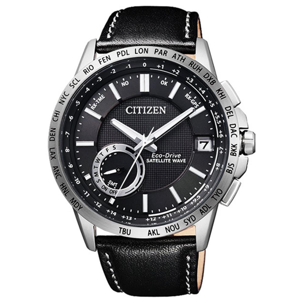 CITIZEN星辰GPS光動能衛星對時萬年曆錶(CC3001-01E)-黑/44.5mm @ Y!購物