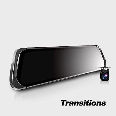 全視線35 前後1080P觸控式電子後視鏡雙鏡 流媒體行車紀錄器-8H