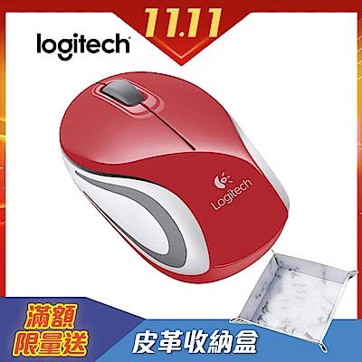 羅技無線迷你滑鼠M187-紅