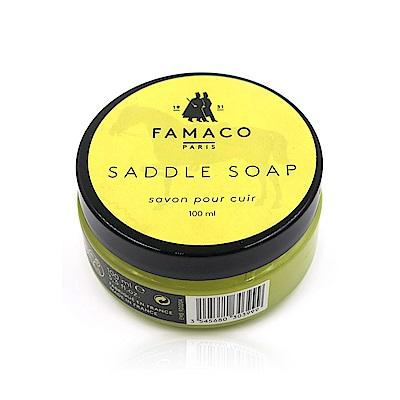 糊塗鞋匠 優質鞋材 K62 法國FAMACO皮革肥皂凝膠 100ml 1罐
