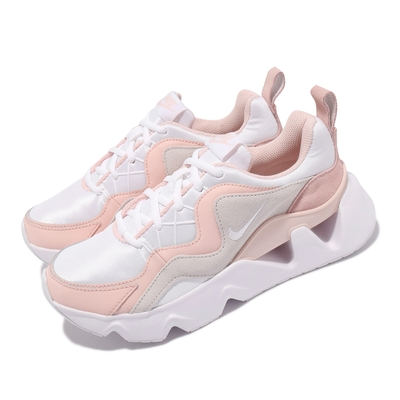 Nike 休閒鞋 RYZ 365 運動 女鞋 海外限定 厚底 增高 明星款 孫芸芸 粉 白 BQ4153-102
