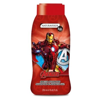義大利進口 Avengers 洗髮沐浴露-IronMan (250ml)