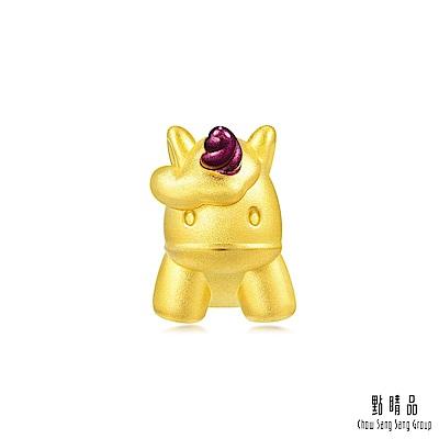 點睛品 Charme 獨角獸 黃金串珠