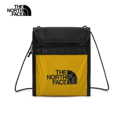 The North Face BOZER NECK POUCH 男女 側背包 黃-NF0A52RZYQR