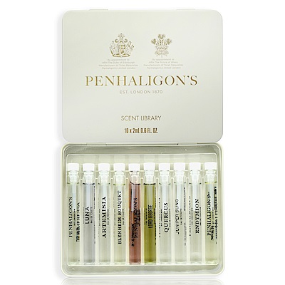 PENHALIGON'S 氣味圖書館 Scent Library 2ml 10件組