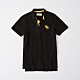 AF a&f Abercrombie & Fitch 短袖POLO黑色 1341 product thumbnail 1