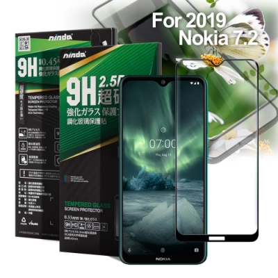 NISDA For NOKIA 7.2 2019 完美滿版玻璃保護貼