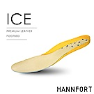HANNFORT 3mm豚皮穩定後跟透氣減壓鞋墊(ICE專用)