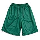 【V-TEAM】雙面穿籃球短褲-綠