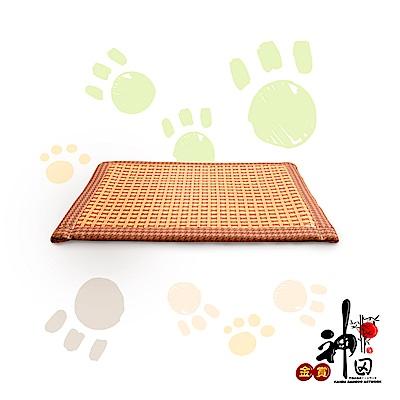神田職人 頂級特厚 3D透氣網布 紙纖 散熱 透氣寵物涼蓆 大-90x60cm 涼墊