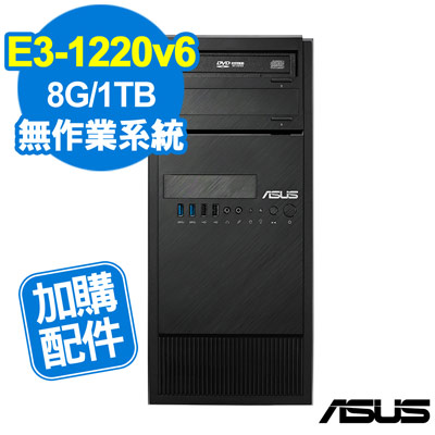 ASUS TS100-E9 E3-1220v6/8GB/1TB/FD