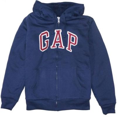 GAP 男生 連帽厚外套 藍 1442