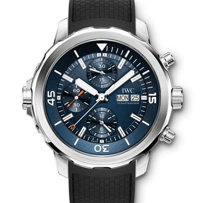 IWC萬國海洋時計計時腕錶雅克伊夫庫斯托探險之旅特別版-44mm