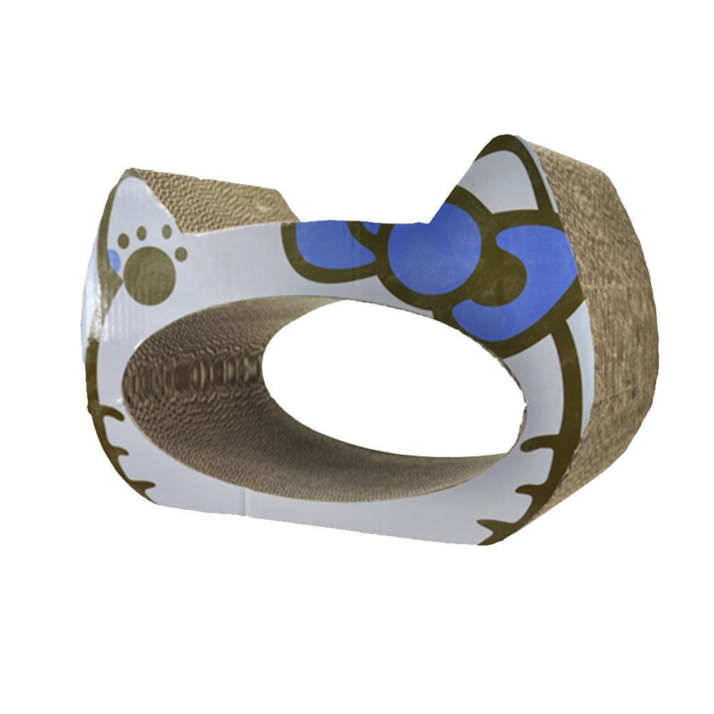 大頭貓造型貓抓板