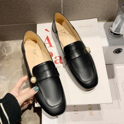 KEITH-WILL時尚鞋館 超有型獨具品味時尚話題單品樂福鞋-黑