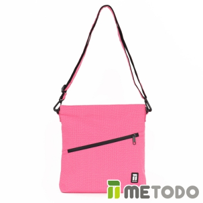 【METODO防盜包】Shoulder Bag 不怕割斜背包/肩包/方包TSL-204甜蜜桃/休閒旅遊包