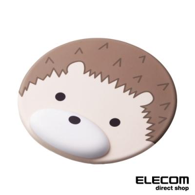 ELECOM 動物造型鼠墊-刺蝟