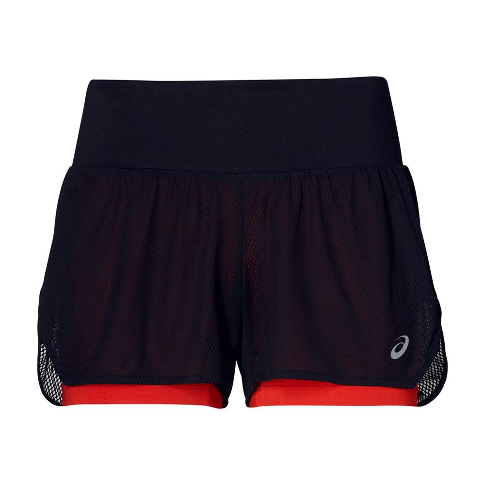 ASICS 女COOL 2-N-1短褲 2012A330-008