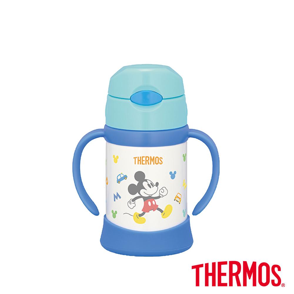 THERMOS膳魔師不鏽鋼兒童學習杯0.25L(FHI-250)-LB(米奇)