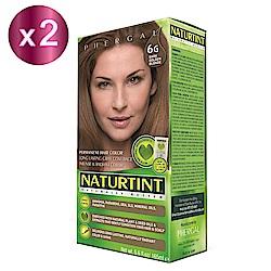 NATURTINT 赫本染髮劑 6G 金棕色x2 (155ml/盒)