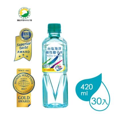 台鹽 海洋鹼性離子水(420mlx30瓶)