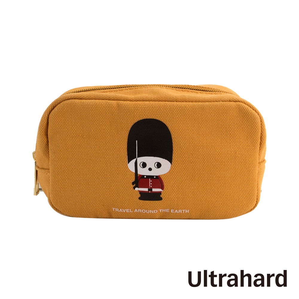Ultrahard 月見兔萬用收納包-小騎兵(黃)