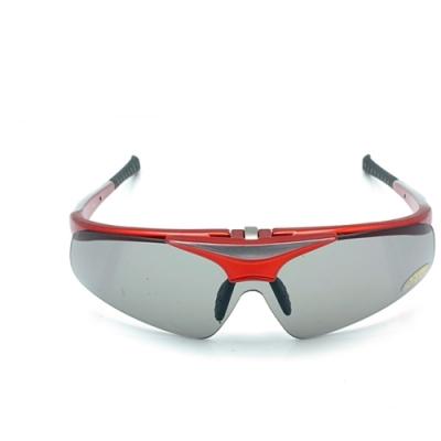 台灣PHOTOPLY可掀式大聯盟太陽眼鏡( 絢麗紅鏡框+POLARIZER寶麗萊偏光)