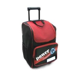 DLD多輪多 專業直排輪 溜冰鞋 專用拉桿包 大拉桿袋 黑紅